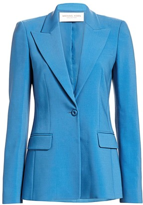 Michael Kors One Button Blazer