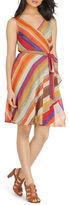 Lauren Ralph Lauren Petite Floral-Print Wrap Dress