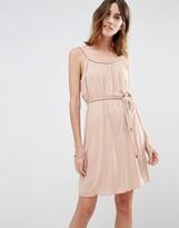 Vila Tie Waist Cami Dress