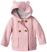 Carter's Baby Girl Double-Breasted Lurex Wool Jacket
