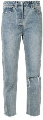 We Are Kindred Thalia ripped cropped jeans