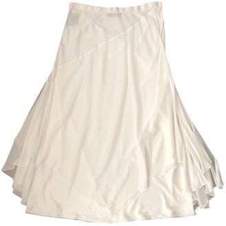 Loewe Ecru Silk Skirt for Women
