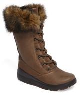 Ecco Women's Noyce Siberia Hydromax Water Resistant Winter Boot With Faux Fur Trim