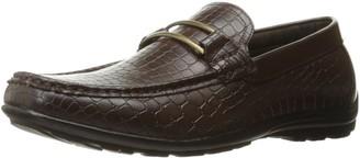 Stacy Adams Men's Lanzo Moc Toe Bit Slip-on Loafer