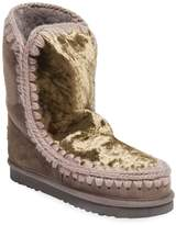 Mou Women's Eskimo 24 Wool Sequined Boot