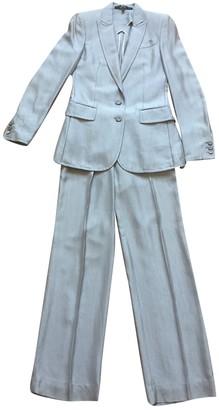 Gianfranco Ferre Metallic Silk Dress for Women Vintage