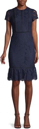Karl Lagerfeld Paris Lace Sheath Dress
