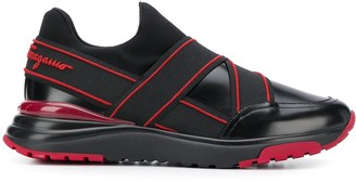 Salvatore Ferragamo Elasticated Strap Slip-On Sneakers