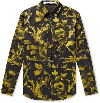 McQ Rollins Floral-Print Cotton-Twill Shirt