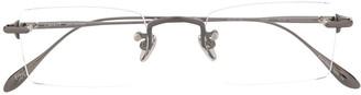 EQUE.M Kusamakura rectangular frame glasses