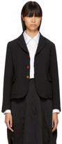 Comme des Garcons Black Double Cloth Blazer