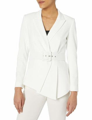 Tahari ASL Women's Belted Jacket