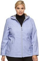 ZeroXposur Plus Size Lillian Hooded Soft Shell Jacket