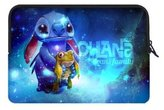 Angelinana Lilo & Stitch Custom Cover Bag Laptop Sleeve Case Water Resistant for 15.6 inch(Twin Sides)