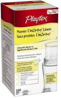 Playtex 100 Count Bottle Liners Drop-Ins (Pack of 3)