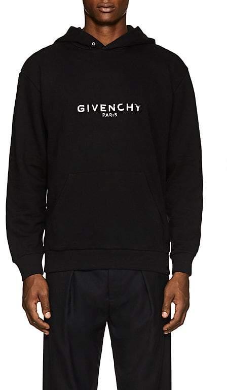 Givenchy Men's Logo-Print Cotton Hoodie