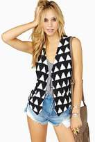 Nasty Gal Shadow Of The Moon Vest