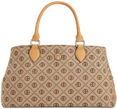 Giani Bernini Annabelle Chain Signature Satchel, Only at Macy's