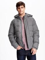 Old Navy Detachable-Hood Quilted Jacket for Men