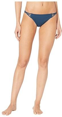 O'Neill Salt Water Solids Multi Side Strap Pant (Dark Indigo) Women's Swimwear