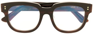 Gentle Monster Una C B4 square-frame glasses