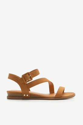 Ardene Faux Suede Ankle Strap Sandals