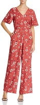 Band of Gypsies Poppy Floral Jumpsuit