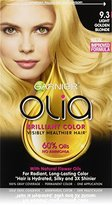 Garnier Olia Oil Powered Permanent Hair Color, 9.3 Light Golden Blonde (Packaging May Vary)