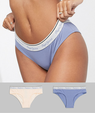 Pepe Jeans june jersey 2 pack briefs