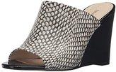 Nine West Women's Felana Leather Wedge Sandal
