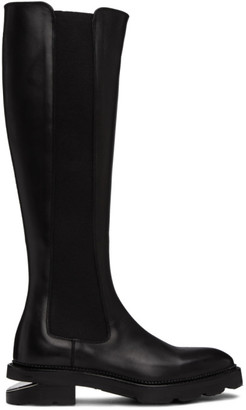 Alexander Wang Black Andy Riding Boots