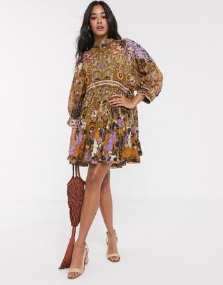 Free People nouveau mini dress