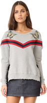 Pam & Gela Embroidered Sweatshirt