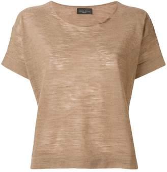 Roberto Collina scoop neck T-shirt