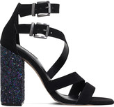 Carvela Goody suedette heeled sandals
