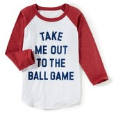 Boy's Peek Ball Game T-Shirt