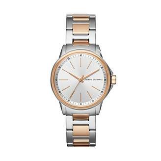 Armani Exchange Women's Lady Banks Three Hand Stainless Steel Watch AX4363