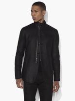 John Varvatos Funnel Collar Jacket