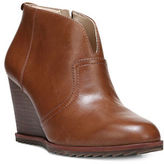 Dr. Scholl's Dr. Scholls Original Inda Leather Wedge Booties
