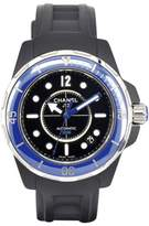 Chanel J12 Marine H2559 Ceramic & Rubber Automatic 39mm Mens Watch