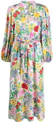 Gucci Floral-Print Maxi Dress