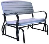 Lifetime Glider Bench - Gray