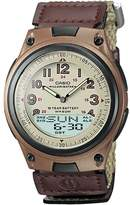Casio Men's Illuminator World Time Analog & Digital Databank Chronograph Watch - AW80V-5BV