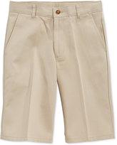 Nautica Boys' Husky Uniform Shorts