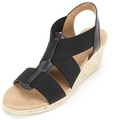White Mountain Women's Support Espadrille Wedge Sandal