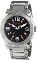 BOSS ORANGE 1512899 Mens Black and Silver H-7008 Watch