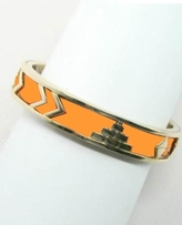 House of Harlow 1960 - Orange Pyramid Bangle ** In Stock Now**