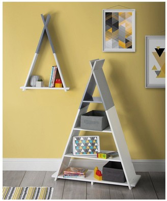 Lloyd Pascal Teepee Wall Mounted Single Tier Kids Shelf