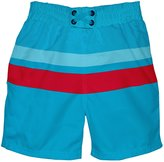 I Play Ultimate Swim Diaper Block Boardshorts (Baby/Toddler) - Aqua-S (6M)