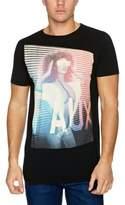Crew Clothing Friend Or Faux Elextro Printed Men's T-Shirt